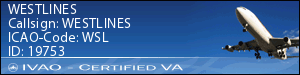 IVAO Certified Button